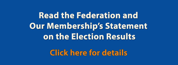 AAF and Membership Statement on Election_Results